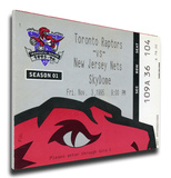Toronto Raptors Inaugural Game Mega Ticket