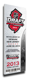 2013 NHL Draft Commemorative Mega Ticket