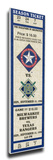 Nolan Ryan Retirement Mega Ticket - Texas Rangers