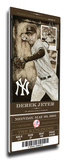 Derek Jeter Artist Series Mega Ticket - New York Yankees