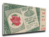 1946 Rose Bowl Mega Ticket - Alabama Crimson Tide