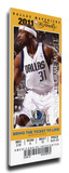 2011 NBA Finals Mega Ticket - Game 3  Terry - Dallas Mavericks