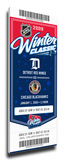 2009 NHL Winter Classic Commemorative Mega Ticket - Red Wings vs Blackhawks