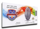 2013 BCS National Championship Game Mega Ticket - Alabama Crimson Tide