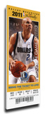 2011 NBA Finals Mega Ticket - Game 5  Kidd - Dallas Mavericks
