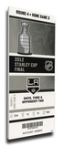 2012 NHL Stanley Cup Final Mega Ticket - Los Angeles Kings