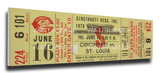 Tom Seaver No-Hitter Mega Ticket - Cincinnati Reds