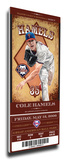 Cole Hamels Artist Series Mega Ticket - Philadelphia Phillies