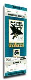 San Jose Sharks Inaugural Game Mega Ticket