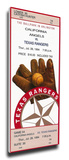 Kenny Rogers Perfect Game Mega Ticket - Texas Rangers