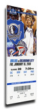 Dirk Nowitski Mega Ticket - Dallas Mavericks