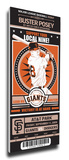Buster Posey Artist Series Mega Ticket - San Francisco Giants