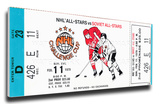 1979 NHL All-Star Challenge Cup Mega Ticket - Madison Square Garden