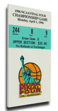 1996 Final Four Mega Ticket - Kentucky Wildcats