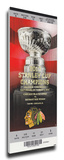 Chicago Blackhawks 2010 Stanley Cup Champions Banner Raising Mega Ticket