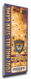 2002 NHL All-Star Game Mega Ticket  Kings Host - MVP Daze