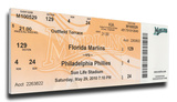 Roy Halladay Perfect Game Mega Ticket - Philadelphia Phillies