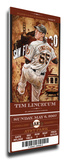 Tim Lincecum Artist Series Mega Ticket - San Francisco Giants
