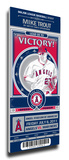 Mike Trout Artist Series Mega Ticket - Los Angeles Angels