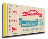 1978 NCAA Basketball Finals Mega Ticket - Kentucky Wildcats