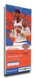 Carmelo Anthony Mega Ticket - New York Knicks
