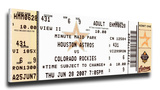 Craig Biggio 3 000 Hit Mega Ticket - Houston Astros