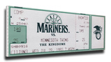 Ken Griffey Jr 8 Consecutive Home Runs Mega Ticket - Seattle Mariners