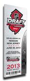 2013 NHL Draft Commemorative Mega Ticket