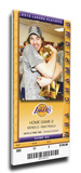2010 NBA Finals Mega Ticket - Game 2  Gasol - Los Angeles Lakers