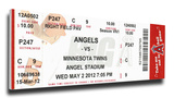 Jered Weaver No Hitter Mega Ticket - Los Angeles Angels