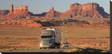 Highway  Monument Valley  USA