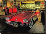 1958 Chevrolet Corvette in Garage
