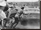 Stock Car in Pit Stop  Daytona  Florida 1974