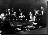 La Roulette a L'Interieur D'Un Casino a Monte Carlo  1934
