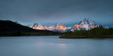 Grand Tetons  Wy: Sunrise at Oxbow Bend