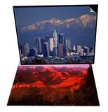 View of San Gabriel Mountain  Los Angeles & Grand Canyon National Park  AZ Set