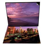 Sunset and the Ocean  CA & Los Angeles Skyline  California Set