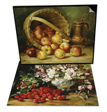A Basket of Apples & Raspberries and Sweet Pea Set