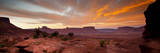 Sunrises in the Moab Desert - Viewed from the Fisher Towers - Moab  Utah