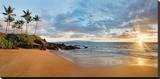 Hawaii  Maui  Makena  Secret Beach at Sunset