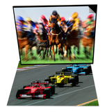 Horse Race in Motion & Formula 1 Auto Race Set
