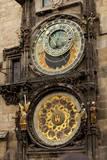 Astronomical Clock in Old Town Square in Prague  Czech Republic
