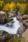 The Famous Falls in Rocky Mountain National Park  Colorado