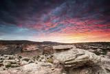Sunset at Canyon Near Moab  Utah