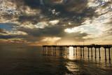 The Ocean Beach Fishing Pier in San Diego  California