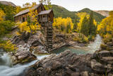 Crystal Mill Is One of the Major Iconic Shots of Colorado in Autumn