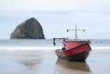 Dory Boat in Pacific City  Oregon