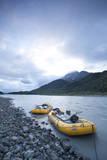 White Water Raft Trip Down the Tashenshini River  Alaska