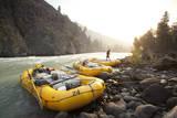 Whitewater Rafting on the Chilko River British Columbia  Canada