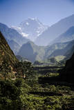 Sweeping Landscape Along the Annapurna Circuit  Nepal